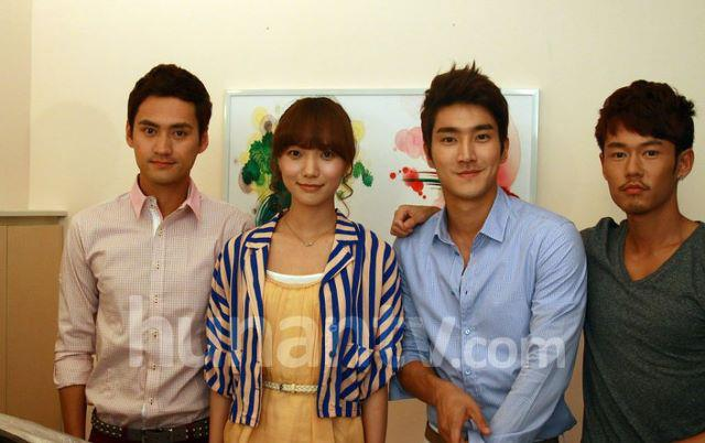 how to fall in love cast