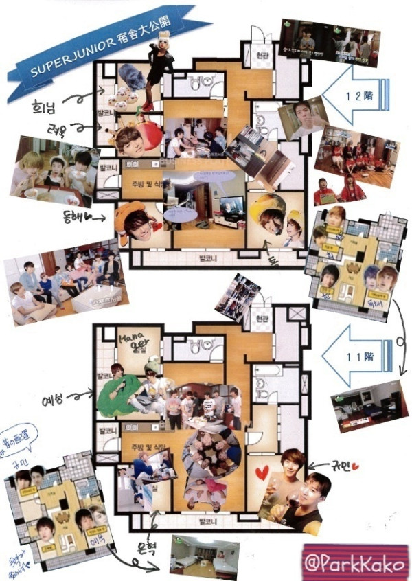 The Map Of SJs Dorm BELLINDACO